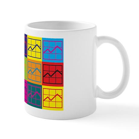 Budget Analysis Pop Art Mug