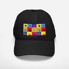 Bowling Pop Art Baseball Hat