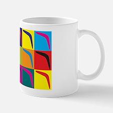 Boomerang Pop Art Mug
