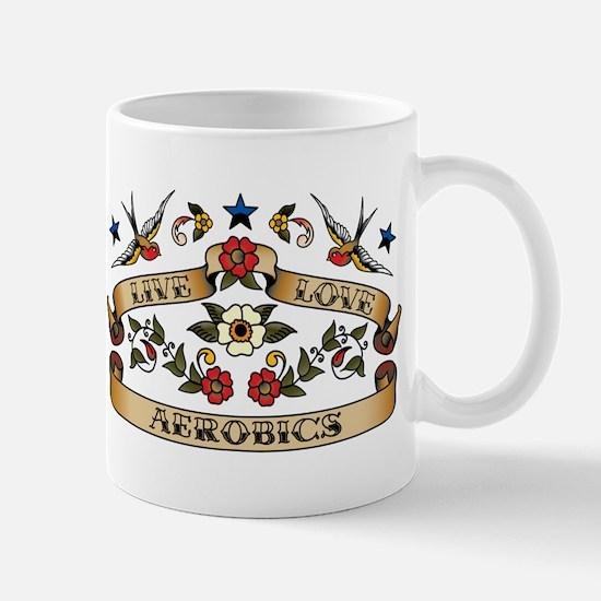 Live Love Aerobics Mug
