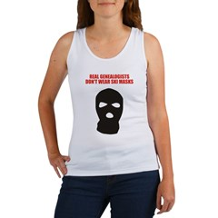 Don't Wear Ski Masks Women's Tank Top