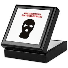 Don't Wear Ski Masks Keepsake Box