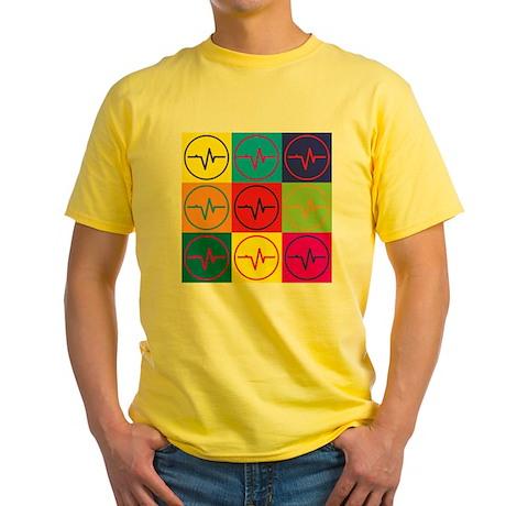 Biomedical Engineering Pop Art Yellow T-Shirt