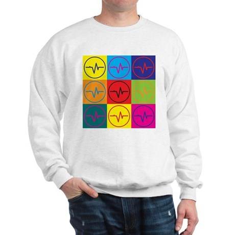 Biomedical Engineering Pop Art Sweatshirt