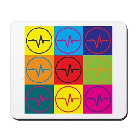 Biomedical Engineering Pop Art Mousepad