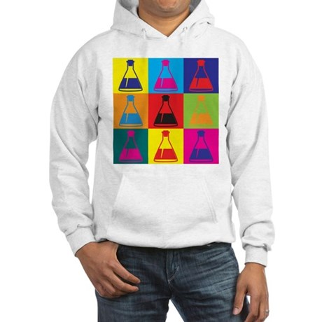 Biology Pop Art Hooded Sweatshirt