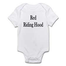 """Instant """"Red Riding Hood"""" Infant Creeper"""