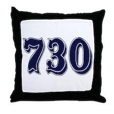 730 Throw Pillow