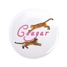 "Sexy Cougar Woman 3.5"" Button"