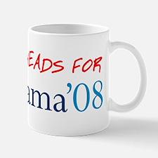 Eggheads for Obama Mug