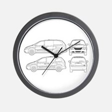 Chrysler Voyager Wall Clock