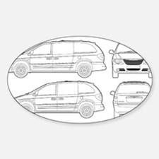 Chrysler Voyager Oval Decal