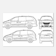 Chrysler Voyager Postcards (Package of 8)