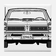 Pontiac GTO Tile Coaster
