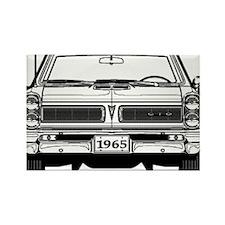 Pontiac GTO Rectangle Magnet