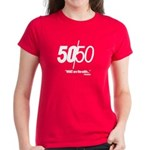 50/50 Women's Dark T-Shirt