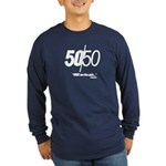 50/50 Long Sleeve Dark T-Shirt