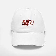 50/50 Baseball Baseball Cap