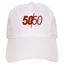 50/50 Baseball Cap