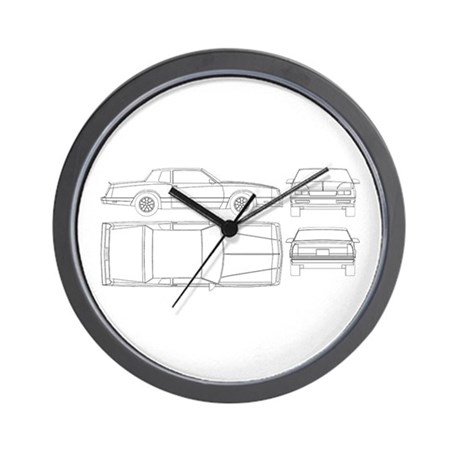 Chevy Monte Carlo Wall Clock