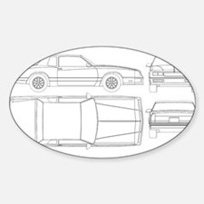 Chevy Monte Carlo Oval Decal