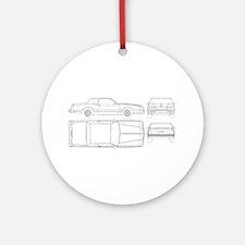 Chevy Monte Carlo Ornament (Round)