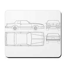 Chevy Monte Carlo Mousepad