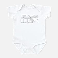 Chevy Monte Carlo Infant Bodysuit