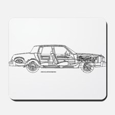 Oldsmobile Cutlass Mousepad