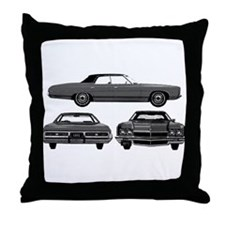 Chevy Caprice Throw Pillow