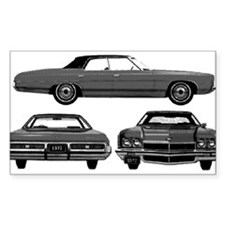 Chevy Caprice Rectangle Decal