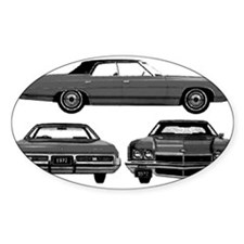 Chevy Caprice Oval Decal