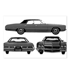 Chevy Caprice Postcards (Package of 8)