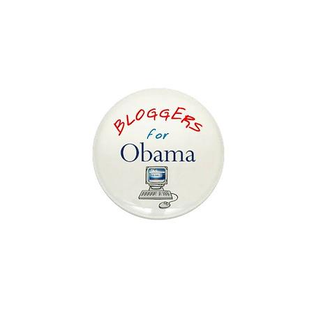Bloggers for Obama Mini Button
