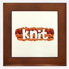 Knit Framed Tile