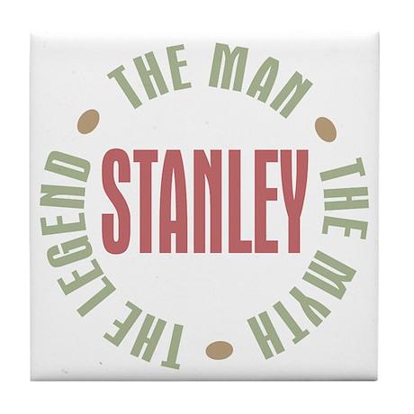 Stanley Man Myth Legend Tile Coaster