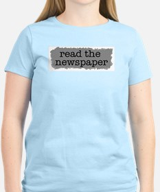 Read the paper T-Shirt