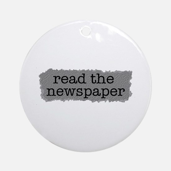 Read the paper Ornament (Round)