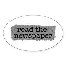 Read the paper Oval Sticker (10 pk)