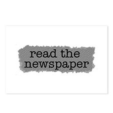 Read the paper Postcards (Package of 8)
