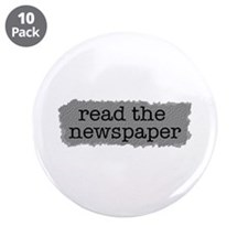 """Read the paper 3.5"""" Button (10 pack)"""