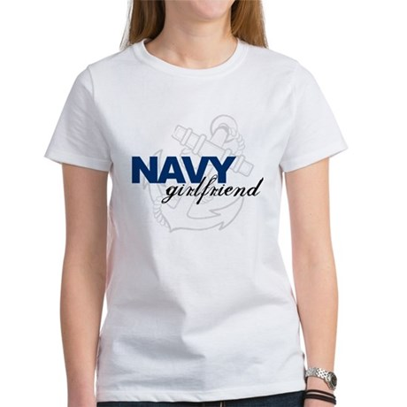 Navy Girlfriend: Sailor's LOV Women's T-Shirt
