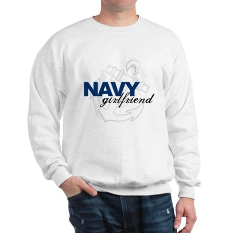 Navy Girlfriend: Sailor's LOV Sweatshirt