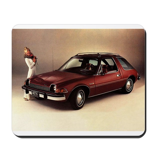 amc pacer mousepad by kensingtonkar. Black Bedroom Furniture Sets. Home Design Ideas