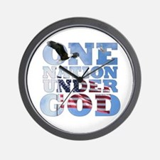 """One Nation Under God"" Wall Clock"