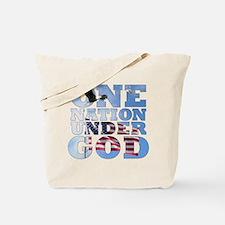 """""""One Nation Under God"""" Tote Bag"""