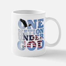 """""""One Nation Under God"""" Mug"""