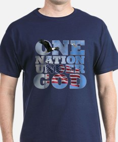 """One Nation Under God"" T-Shirt"
