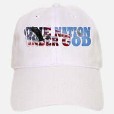 """One Nation Under God"" Baseball Baseball Cap"