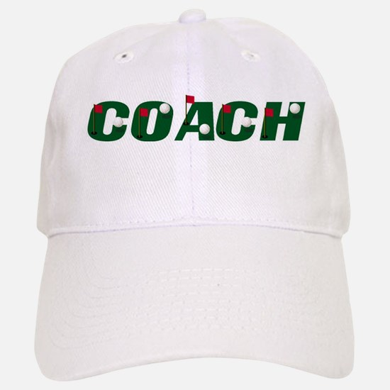 Golf Coach Baseball Baseball Cap
